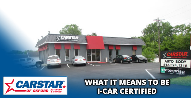 What it means to be I-Car Certified